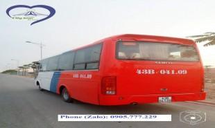 Cho thuê xe 29, 30 chỗ tại Đà Nẵng giá rẻ và uy tín nhất.