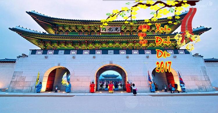 Du lịch Hàn Quốc tết nguyên đán 2017 giá tốt từ Sài Gòn