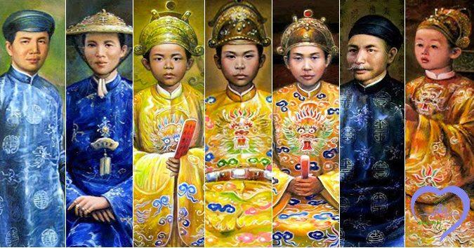 Tài liệu về lược sử cuộc đời 13 vị vua triều Nguyễn