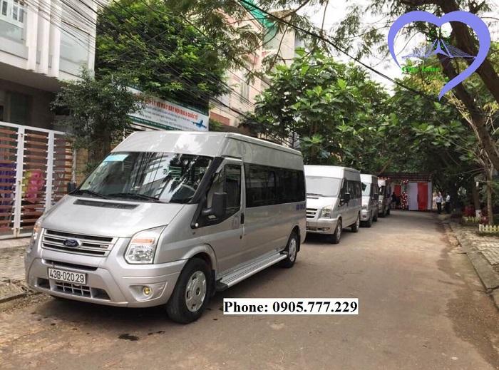 Tuyến xe bus Đà Nẵng đi Bà Nà hằng ngày.